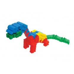 Morphun Dinozaury 110 el. - Klocki konstrukcyjne