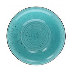 Talerz do zupy, turkusowy TOGNANA ART & PEPPER  21 cm