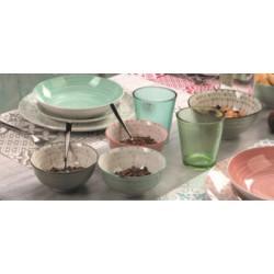 komplet talerzy obiadowych tognana gipsy soft