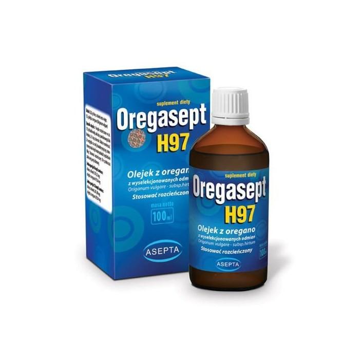 ASEPTA Oregasept H97 100ml - Olejek z oregano