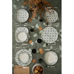 komplet obiadowy Tognana Maiolica Grigio