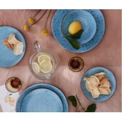 niebieski serwis obiadowy Tognana Khalifa