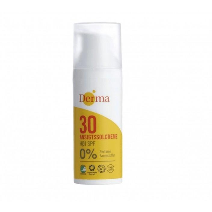 Krem słoneczny do twarzy SPF 30 50 ml Derma Sun