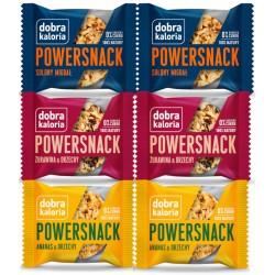 DOBRA KALORIA Powersnack różne smaki KUBARA  x 6szt.
