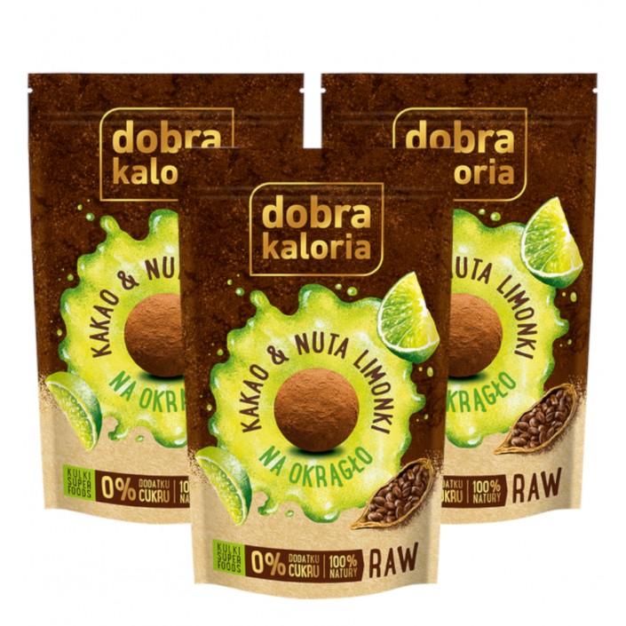 Na okrągło - Kakao & Nuta limonki KUBARA - 3 szt.