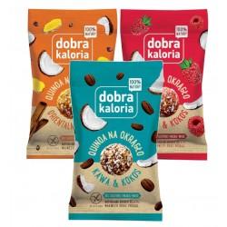 DOBRA KALORIA Quinoa na okrągło mix KUBARA - 3 szt.