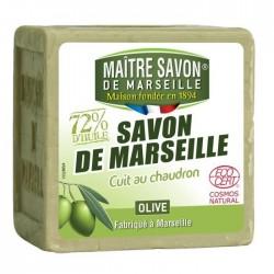 Mydło marsylskie oliwkowe EcoCert 300g MAITRE SAVON
