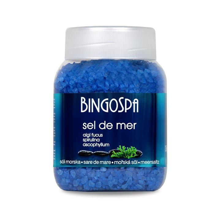 BINGOSPA SEL DE MER sól do kąpieli morska algi fucus 1,35kg