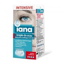 IANA Krople do oczu INTENSIVE intensywnie nawilżające 0,3% HA 10ml STARPHARMA