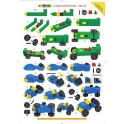 Morphun 10 Pojazdów 251 el. - Klocki konstrukcyjne