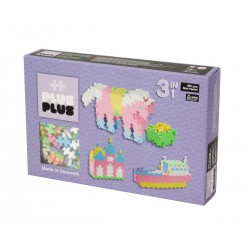 Klocki PlusPlus Mini Pastel 3w1 480 el.