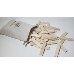 Klocki drewniane Koobi deseczki 12 cm 300 el.