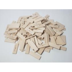 Klocki drewniane Koobi deseczki 8 cm 500 el.