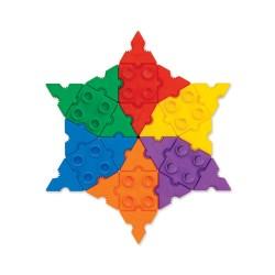 Morphun Starter Rainbow 500 el. - Klocki konstrukcyjne MIX