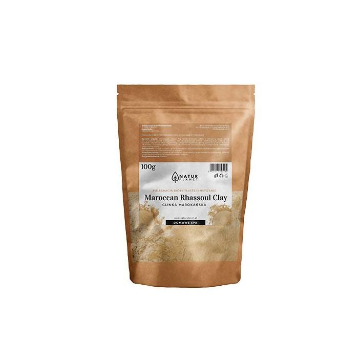 Glinka oryginalna marokańska - Rhassoul 100g NATUR PLANET